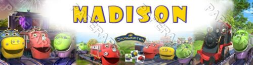 Disney Junior Chuggington Personalized Name Poster Glossy Photo Paper Gift