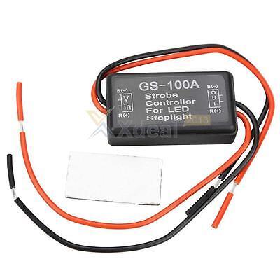 LED Brake Stop Light Lamp Flasher Module Flash Strobe Controller 12V-24V New Hot