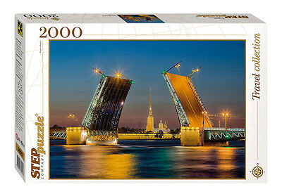 St PETERSBURG (Russia): Jigsaw puzzle 2000 pieces NEW