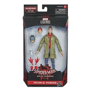 """Marvel Legends Series Into the Spider-Verse Peter Parker 6"""" Figure *New*"""