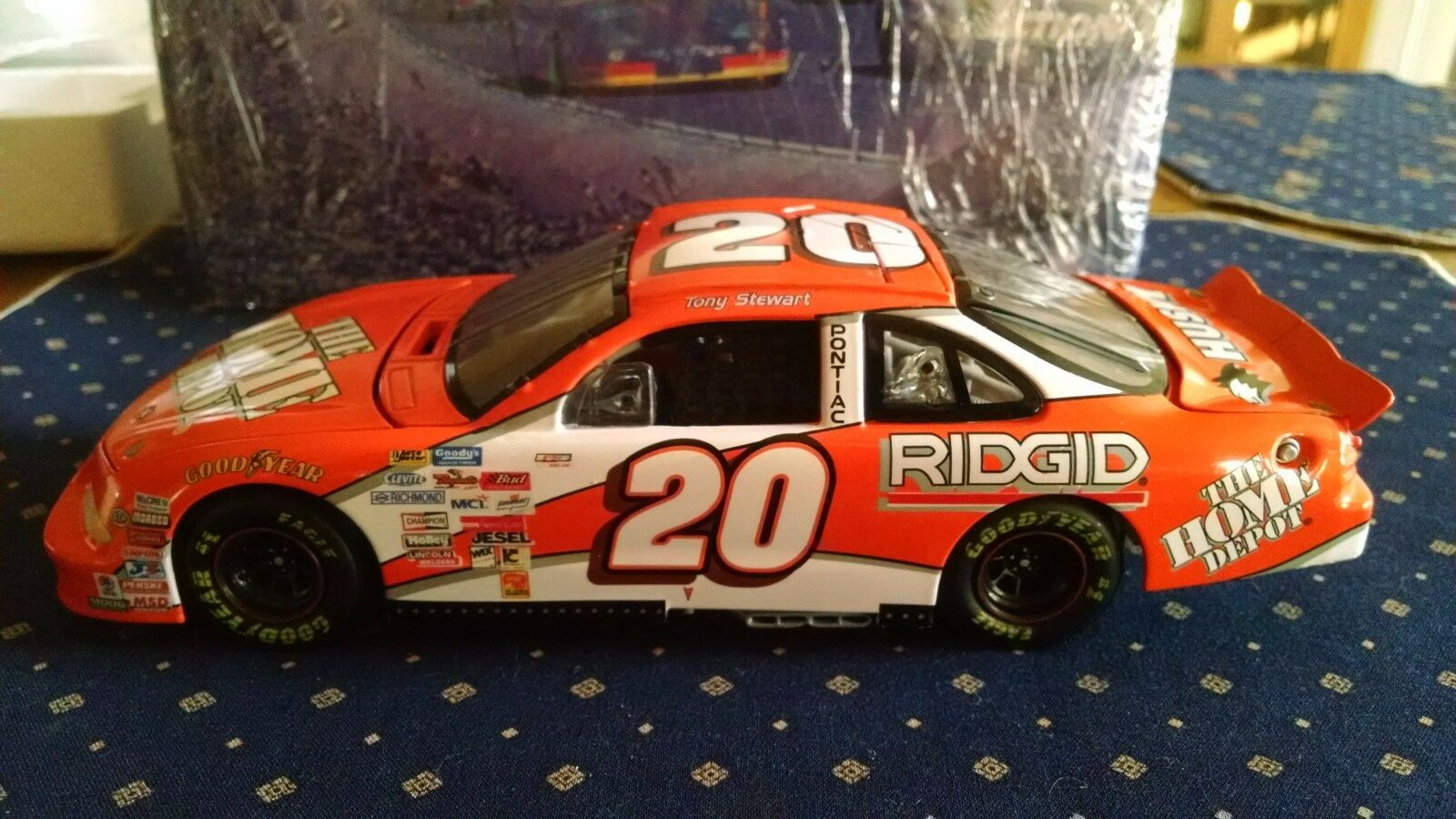 1999 Tony Stewart selectnet Elite Orange Home Depot 1 24 Rookie S249903308-1