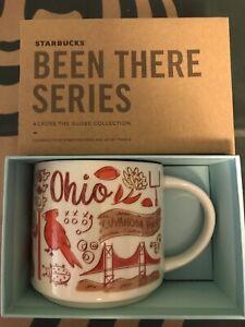 Starbucks Coffee Been There Series 14oz Mug OHIO Cup w/SKU