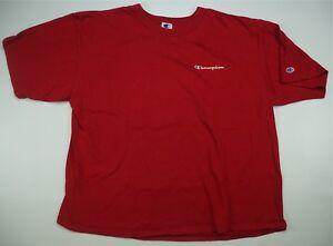 21bc6fbe Rare Vintage CHAMPION Script Spell Out OG Crest T Shirt 80s 90s Hip ...