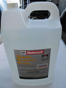 Motorcraft Diesel Exhaust Fluid >> Motocraft Fluid PM-27-JUG Diesel Exhaust Fluid - 2.5 Gallon | eBay