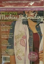 Creative Machine Embroidery Tips for Suede Basics May/June 2014 FREE SHIPPING!