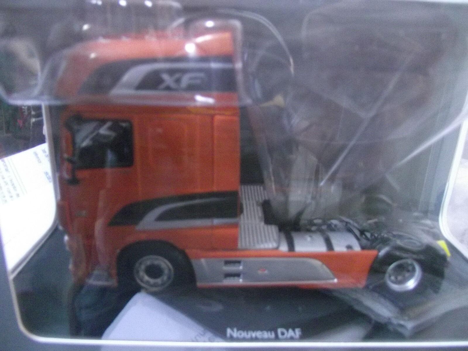 Daf xf superspace cab arancia (pic nic) tractor camión 1 43 eligor ref 115545