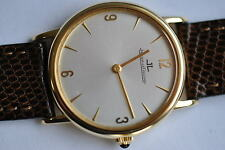 ELEGANTE JAEGER LE COULTRE 750  GOLD  extra flach