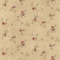 Sp24431 - Rose Garden Trellis Roses Brown Red Galerie Wallpaper