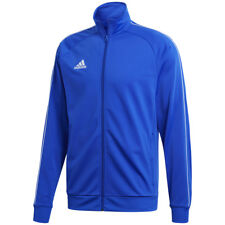 32d10b6fe5e4 Adidas Boys Junior Kids Core Zip Tracksuit Track Top Jacket Jumper  Sweatshirt