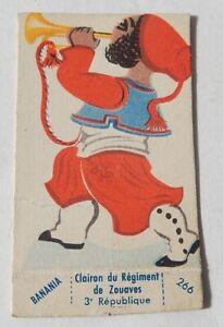 BANANIA-CLAIRON-du-Regiment-des-ZOUAVES-3eme-Republique-Figurine-carton