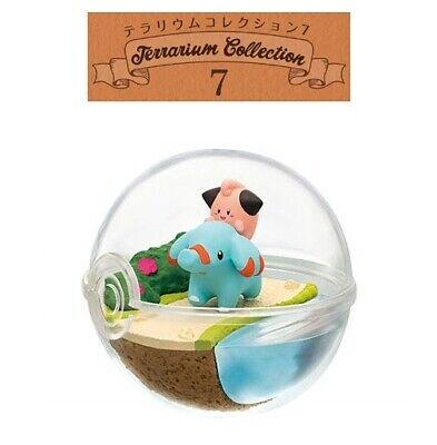 RE-MENT Pokemon Terrarium Collection 7 Poke Ball Case Figure 5 Cleffa /& Phanpy
