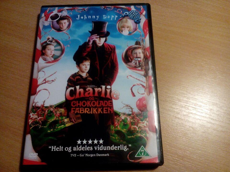 Charlie og chokolade fabrikken, DVD, familiefilm