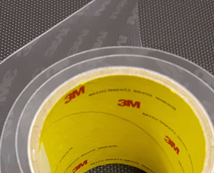 3M Bike Frame Predection Helicopter Tape 8671HS Clear Vinyl - 4  wide x 40  long