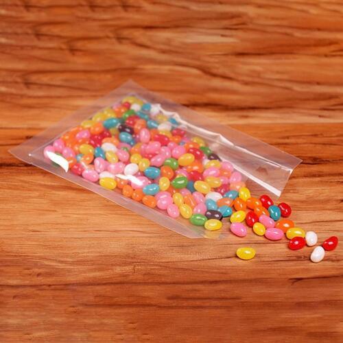 100Pcs Bolsa de sellador de vacío espacio de almacenamiento de alimentos embalaje comercial Food Saver 5 Tamaños