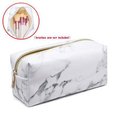 Makeup Travel Cosmetic Bags Brush Pen Pencil Case Organizer Pouch Holder Bag