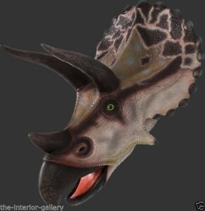 Image Is Loading Triceratops Head Dinosaur Wall Mount