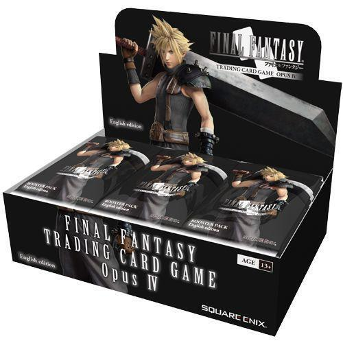 Final Fantasy TCG FFTCG Opus IV Booster Box SEALED SEALED SEALED  ^ 4eaa85