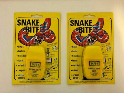 Snake Bite Kit Lot of 2 Kits
