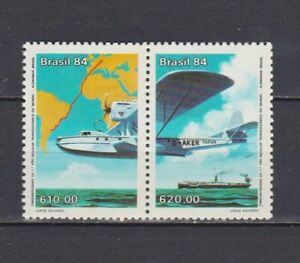 S19124) Brasilien Brazil MNH Neu 1984 Germany-Brazil Connection 2v