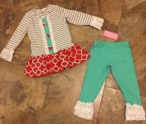 051901a0f Boutique Peaches N Cream Top And Pants Set Size 2T-NWT Original ...