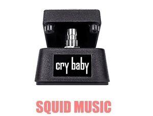 Jim-Dunlop-Cry-Baby-Mini-Wah-Guitar-Effects-Pedal-CBM95-Half-Size-OPEN-BOX