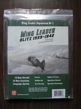 Wing Leader Blitz 1939-1942 Board Game GMT Games Gmt1801