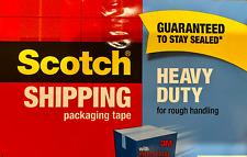 3m Scotch Heavy Duty Shipping Packaging Tape Refill Roll 188x546 Yards