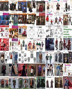Sewing-Pattern-Men-Costume-Biblical-Historic-Star-Wars-Santa-Outlander-LOTR-GOT