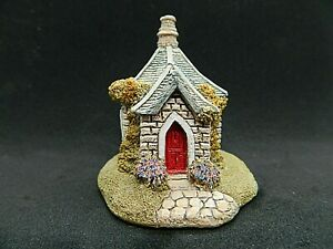 Lilliput-Lane-Farthing-Lodge-Collectable-Vintage-Ornament-With-Deeds