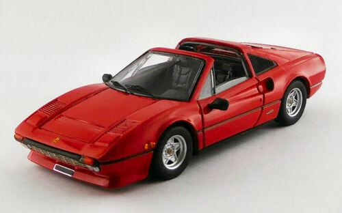 Ferrari 308 Gts Quattrovalvole 1982 Red 1:43 Model BEST MODELS