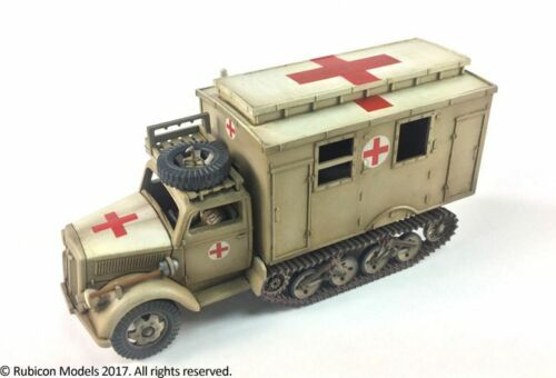 SdKfz 305//3a Expansion Set for SdKfz 305 Blitz 3a Maultier 1//56 Rubicon Models