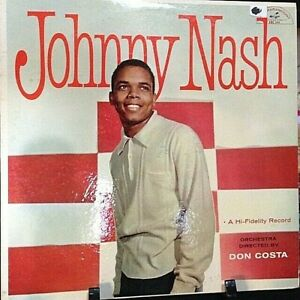 JOHNNY-NASH-Debut-Album-Released-1958-Vinyl-Record-Collection-US-pressed
