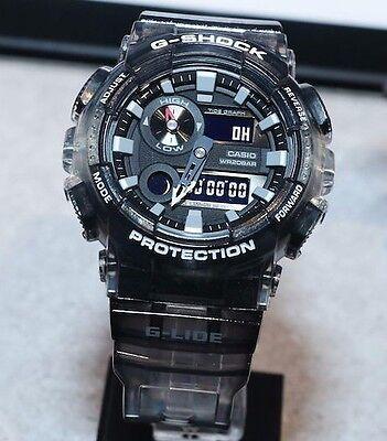 2364df5cb7f Details about Casio G-Shock G-LIDE Hawaii Series Tide Graph Men's Watch GAX -100MSB-1A