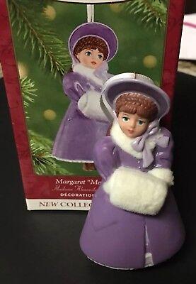 Madame Alexander Margaret Meg March Little Women Hallmark Ornament NEW in Box