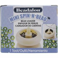 Beadalon Mini Spin-n-bead Seed Bead Spinner Spin In Stock Ships Today