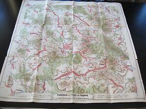 alte-Karte-Wanderkarte-fuer-Pulsnitz-und-Umgebung-Sachsen-um-1900