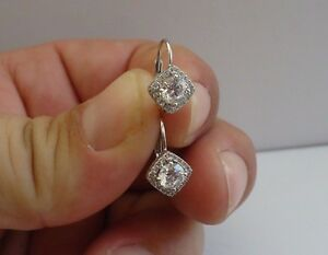 925-STERLING-SILVER-ROUND-STONE-HALO-EARRINGS-W-1-50-CT-DIAMONDS-10MM-BY-9MM