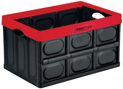 InstaCrate Collapsible Storage Container Strong Premium Quality 46Ltr