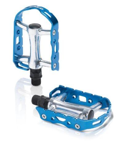 XLC MTB-Pedal Ultralight V PD-M15 Alu ohne Reflektor silber//blau