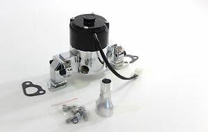 Gpm Electric Water Pump Chrome Ford SB 289 302 351 Windsor 35