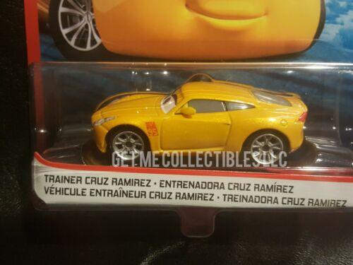 DISNEY PIXAR CARS TRAINER CRUZ RAMIREZ RUST-EZE RACING CENTER 2020 SAVE 6/% GMC