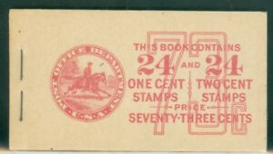 US-BOOKLET-79-COMBINATION-24-1c-AND-24-2c-STAMPS-ISSUED-1927-39-MNH