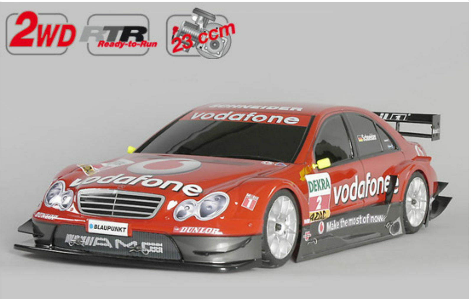 FG modellsport r NUEVO 2wd 530 Chasis RTR + MERCEDES BENZ BODY 23 CCM