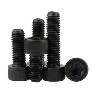Details about HIGH TENSILE 12 9 TORX CAP HEAD SECURITY BOLTS ANTI-THEFT  MACHINE SCREWS M3-M10