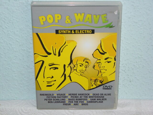 "*****DVD-VARIOUS ARTISTS""POP & WAVE-SYNTH & ELECTRO""-2004-Sony Music*****"