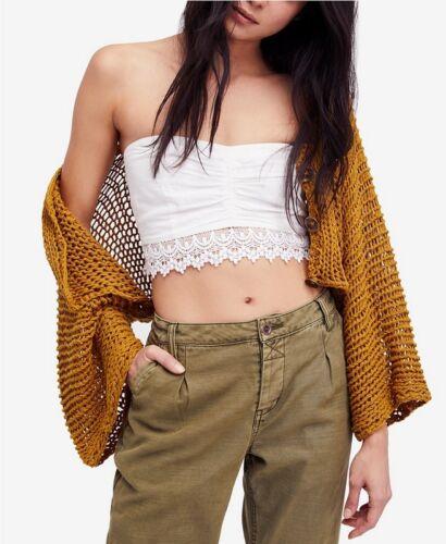 Love Nwt S Top People Weave Free Shrug Small New Størrelse Open Sweater xpTwfqU1
