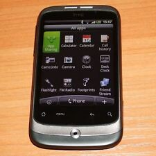 HTC Wildfire Plata (Desbloqueado) Teléfono inteligente Garantía de grado B -