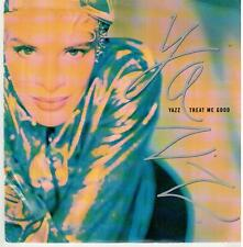 "<1420> 7"" Single: Yazz - Treat Me Good / I Want Your Love"