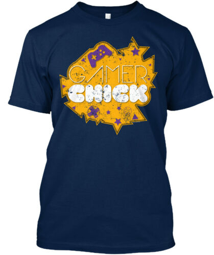 Confortable Gamer chick fille Standard Unisexe T-shirt Standard Unisexe T-Shirt