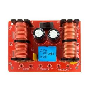 NEW-Speaker-HiFi-Audio-Frequency-Divider-3-Way-High-Medium-Low-Crossover-Filters
